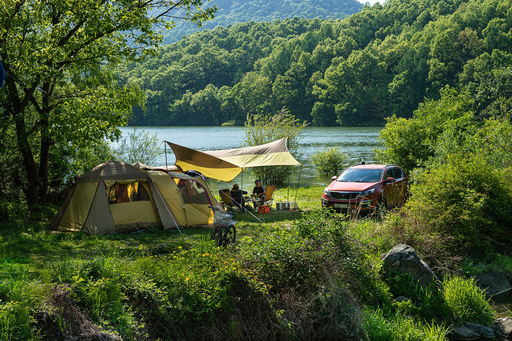 Consejos para salir de camping con niños pequeños