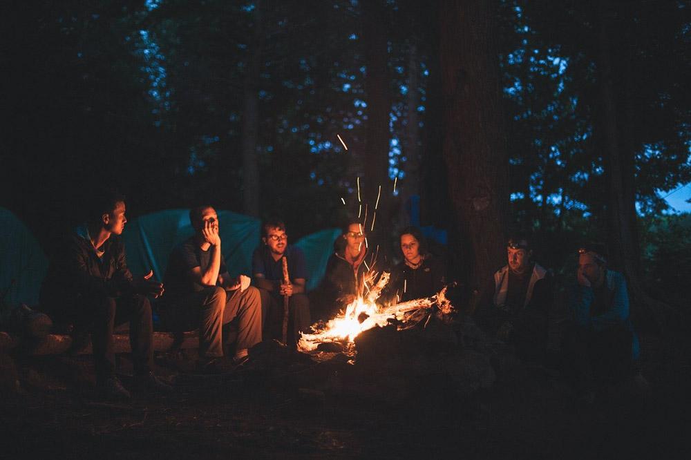 Vacaciones en camping
