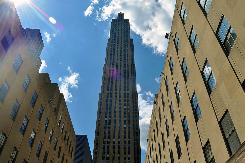 ¿Qué hacer en New York?: Plataforma de observación Top of the Rock en el Rockefeller Center
