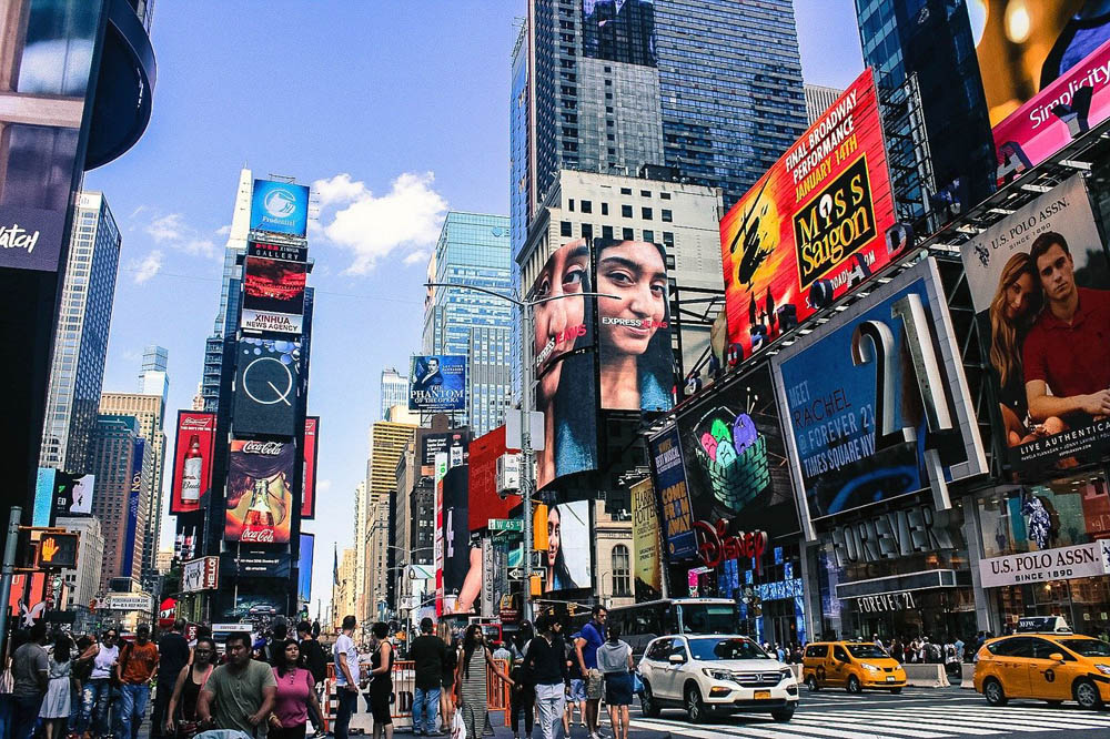 ¿Qué hacer en New York?: Times Square